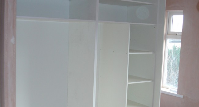 Wardrobes Made And Fitted Cr Carpentry Conor Redmond